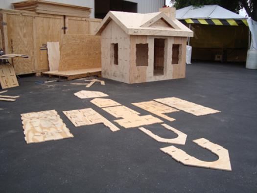 組み立て式家